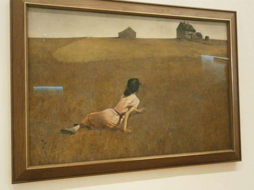 アンドリュー・ワイエス Christina's World Andrew Wyeth