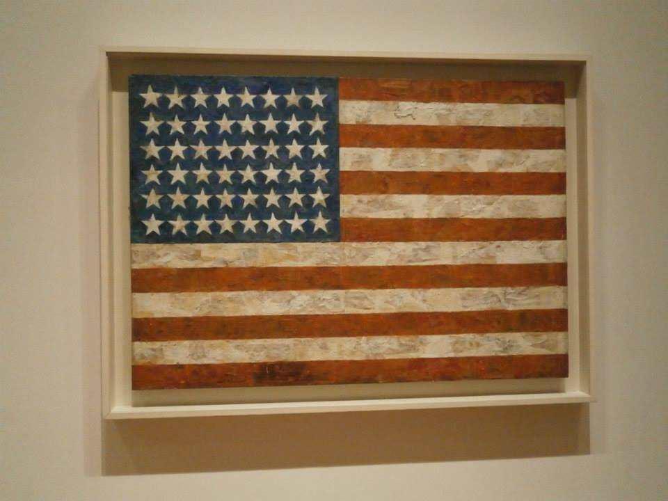 ジャスパー・ジョーンズ Flag