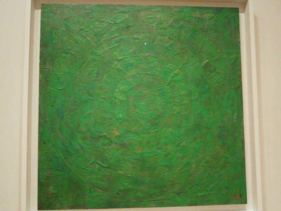 ジャスパー・ジョーンズ Green Target