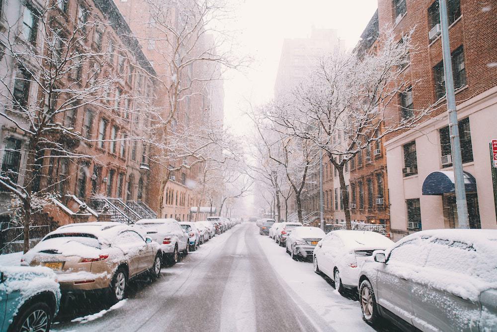 ニューヨーク 冬