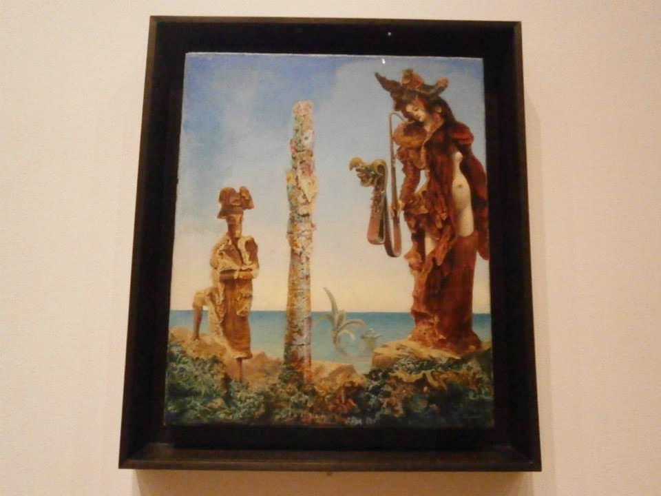 マックス・エルンスト荒野のナポレオン(Max Ernst)