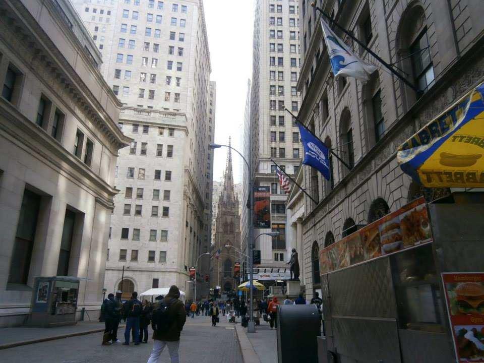 ニューヨーク 金融街
