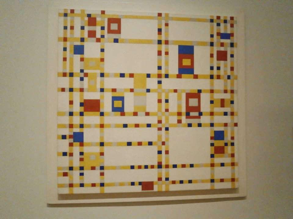 Piet Mondrianピート・モンドリアンBroadway Boogie Woogie