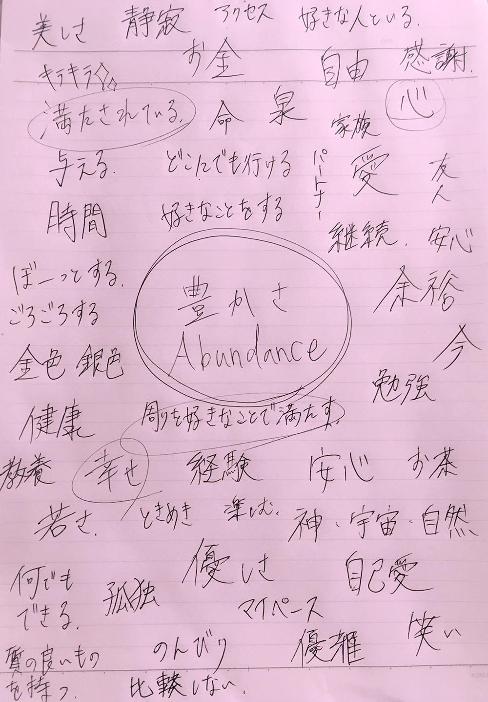 アバンダンスプログラム abundance program